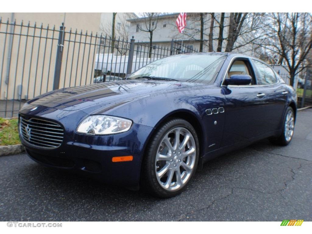 2005 blu nettuno blue metallic maserati quattroporte 74543722 car color. Black Bedroom Furniture Sets. Home Design Ideas