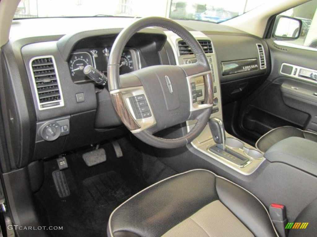 charcoal black interior 2008 lincoln mkx limited edition. Black Bedroom Furniture Sets. Home Design Ideas