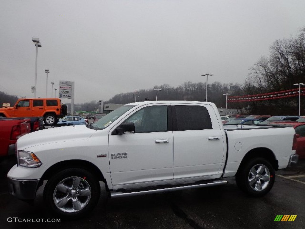 2013 bright white ram 1500 slt crew cab 4x4 74543873 car color galleries. Black Bedroom Furniture Sets. Home Design Ideas