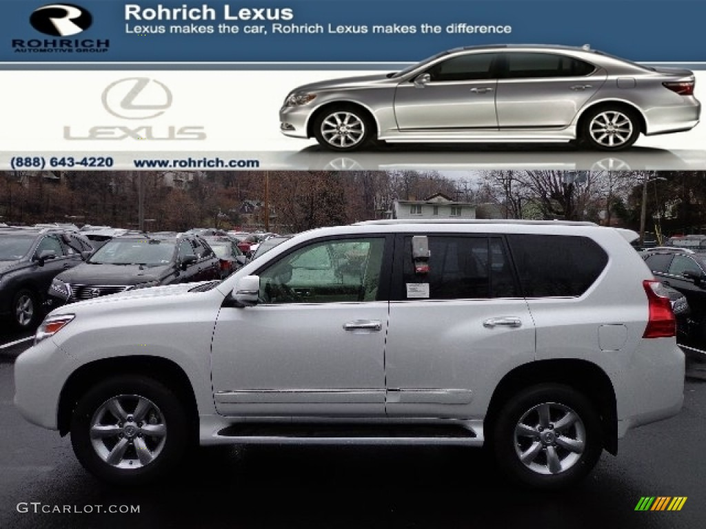 2013 Starfire White Pearl Lexus Gx 460 74567084 Car Color Galleries