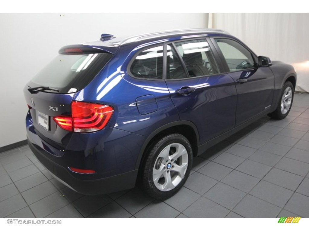 deep sea blue metallic 2013 bmw x1 sdrive 28i exterior. Black Bedroom Furniture Sets. Home Design Ideas