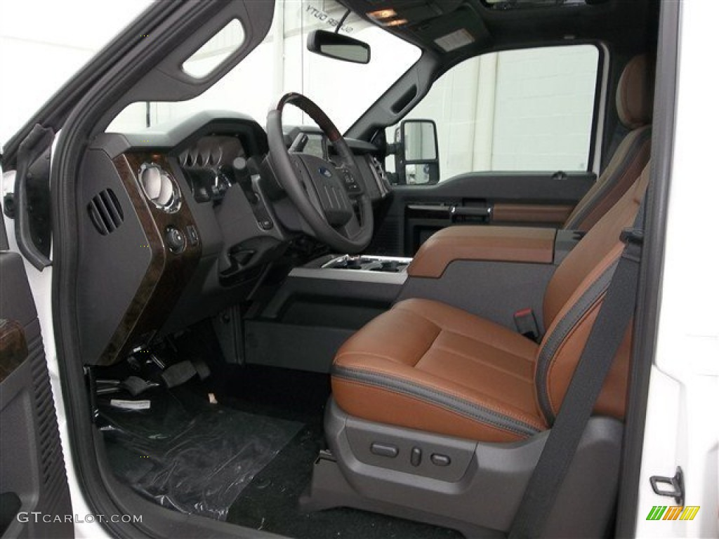 platinum pecan leather interior 2013 ford f250 super duty platinum crew cab 4x4 photo 74576483