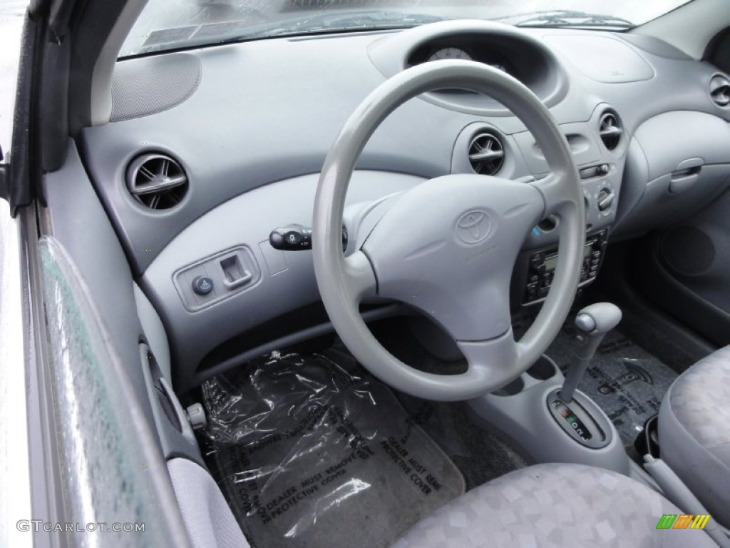 Warm gray interior 2001 toyota echo sedan photo 74576798