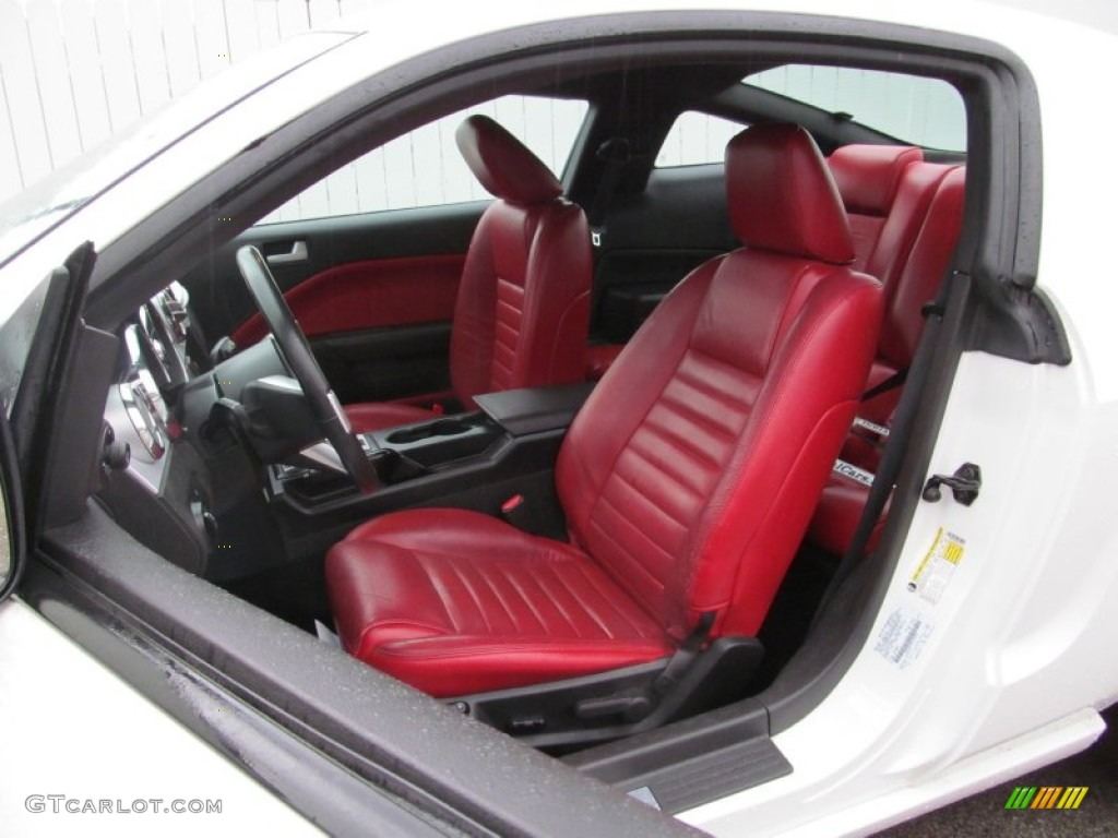 2006 Ford Mustang GT Premium Coupe Front Seat Photo #74579099