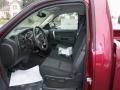 2013 Deep Ruby Metallic Chevrolet Silverado 1500 LT Regular Cab 4x4  photo #16