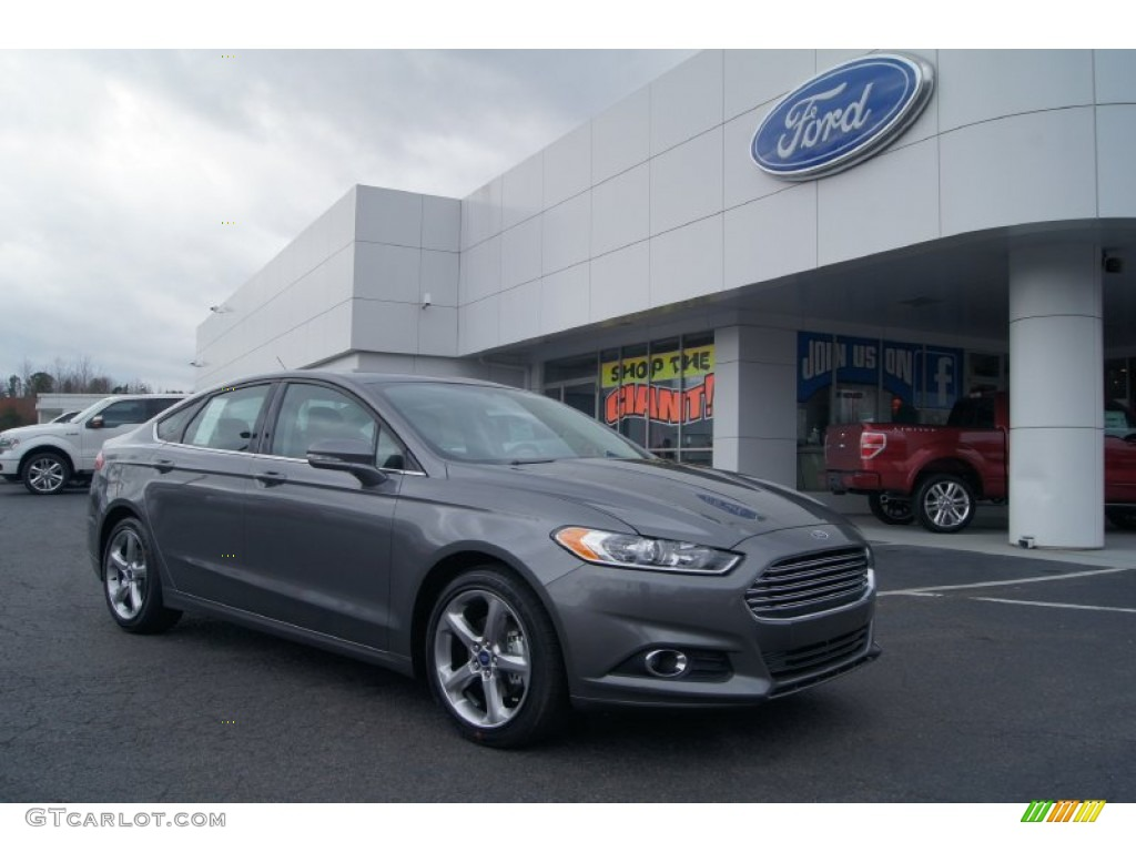 Sterling Gray Metallic Ford Fusion