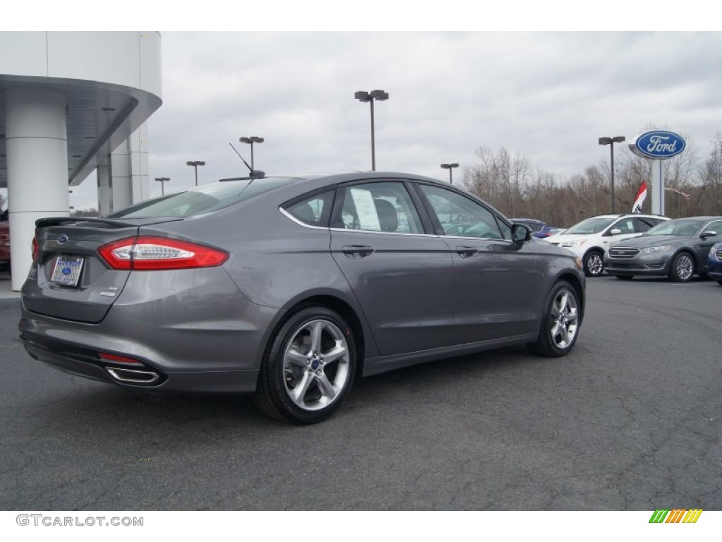 2017 Ford Fusion 2 0 Ecoboost >> 2013 Sterling Gray Metallic Ford Fusion SE 2.0 EcoBoost #74572609 Photo #3 | GTCarLot.com - Car ...