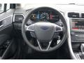 SE Appearance Package Charcoal Black/Red Stitching Steering Wheel Photo for 2013 Ford Fusion #74583395