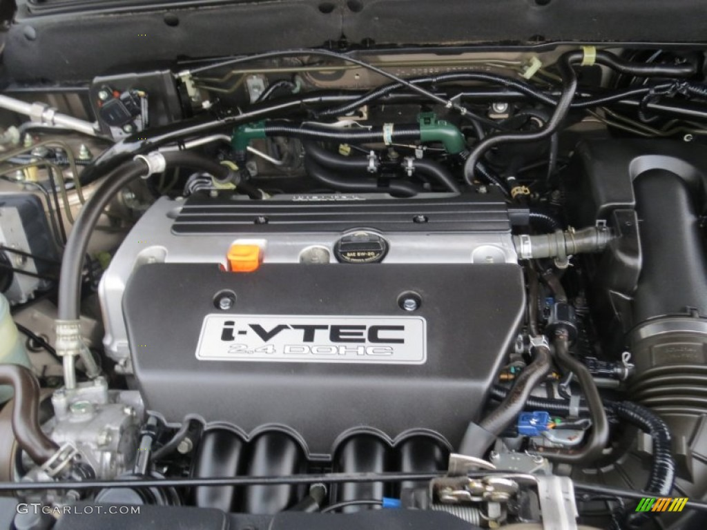 2006 Honda Cr V Lx 2 4 Liter Dohc 16 Valve I Vtec 4
