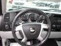 2009 Chevrolet Silverado 1500 Light Titanium Interior Steering Wheel Photo