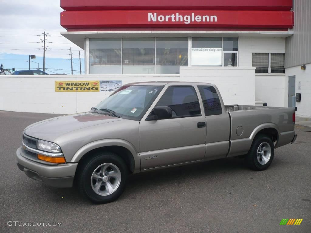 1999 Light Pewter Metallic Chevrolet S10 LS Extended Cab ...