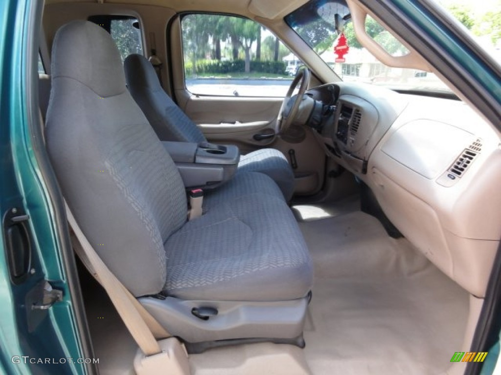 medium prairie tan interior 1997 ford f150 xl extended cab. Black Bedroom Furniture Sets. Home Design Ideas