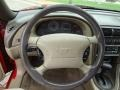 1999 Ford Mustang Medium Parchment Interior Steering Wheel Photo