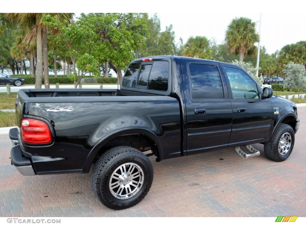 black 2001 ford f150 lariat supercrew 4x4 exterior photo 74614595. Cars Review. Best American Auto & Cars Review