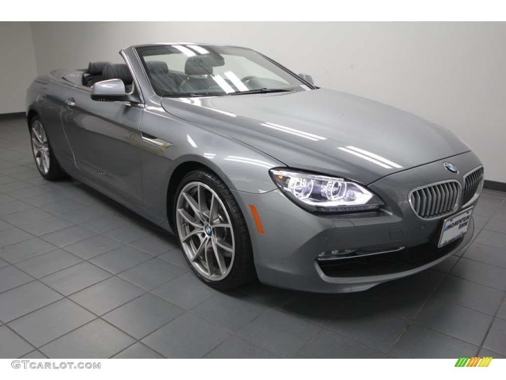 space gray metallic 2012 bmw 6 series 650i convertible exterior photo 74617090. Black Bedroom Furniture Sets. Home Design Ideas