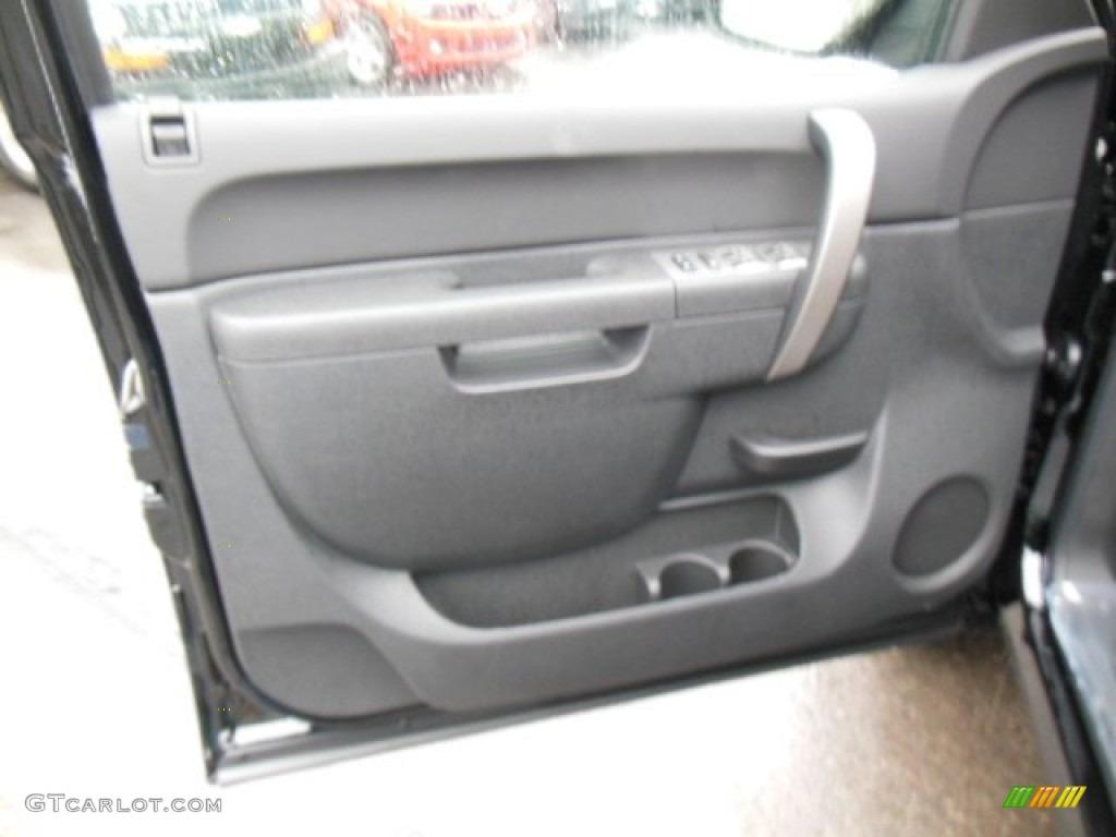 2013 Silverado 1500 LT Extended Cab 4x4 - Black / Ebony photo #12