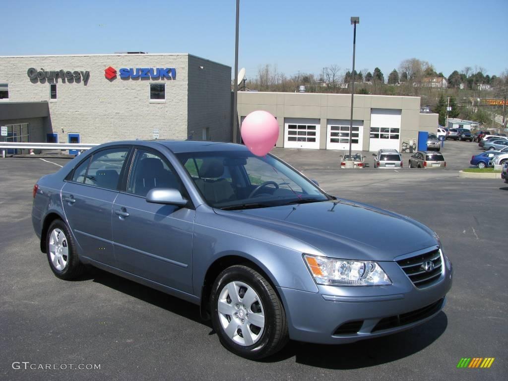 2009 Medium Silver Blue Hyundai Sonata GLS #7440858   GTCarLot.com ...