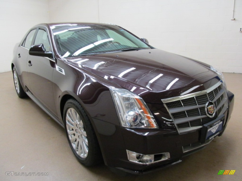 2010 black cherry cadillac cts 4 3 6 awd sedan 74624299. Black Bedroom Furniture Sets. Home Design Ideas