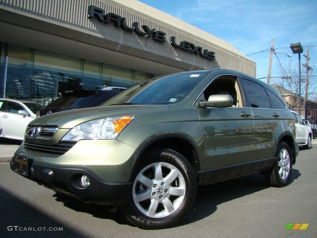 2007 green tea metallic honda cr v ex l 4wd 7439303 car color galleries. Black Bedroom Furniture Sets. Home Design Ideas
