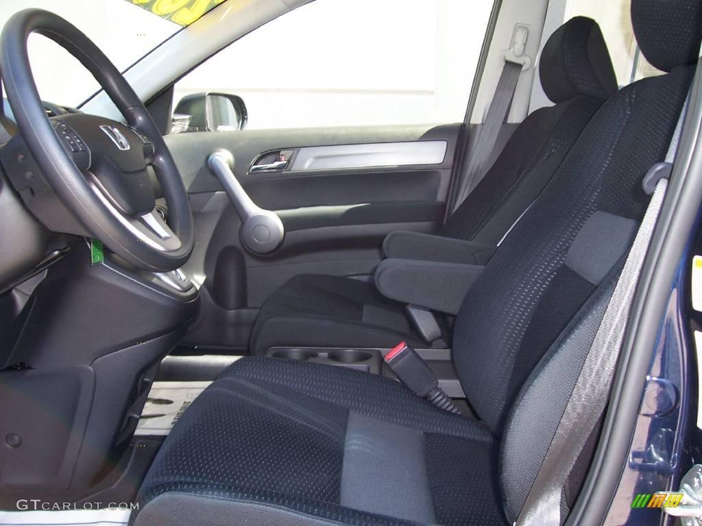 2008 CR-V EX 4WD - Royal Blue Pearl / Black photo #9
