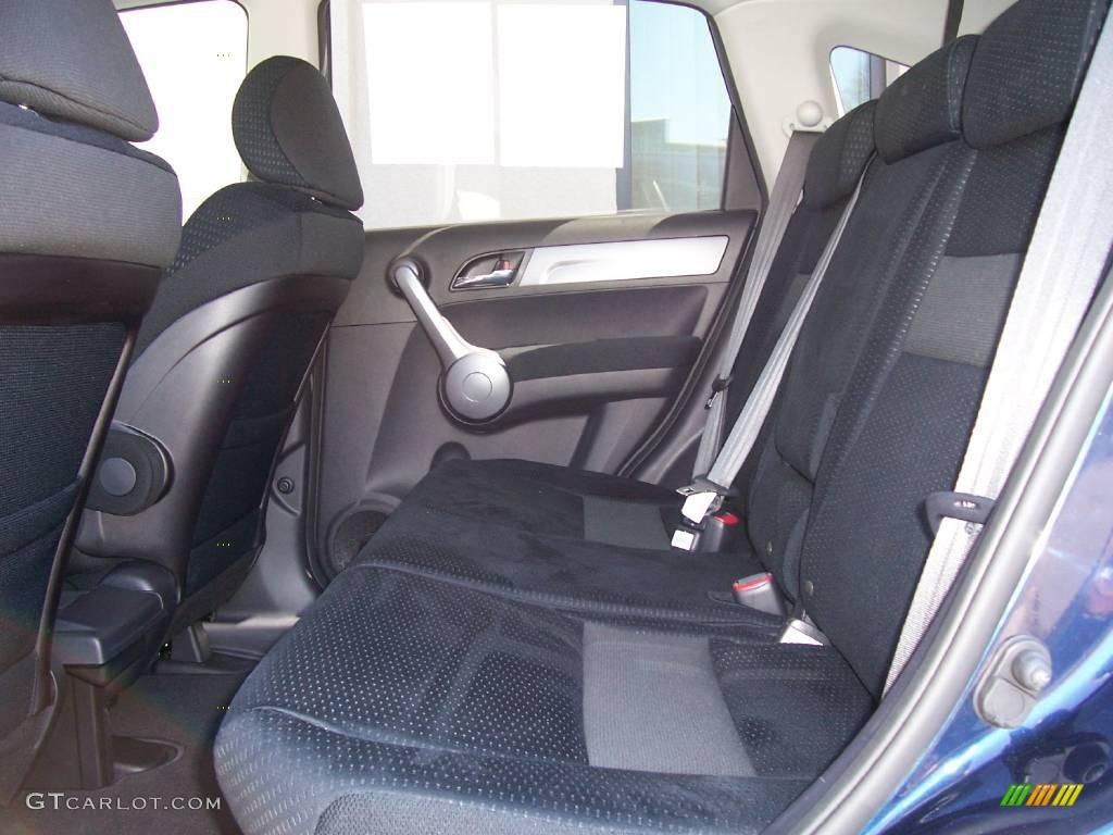 2008 CR-V EX 4WD - Royal Blue Pearl / Black photo #10