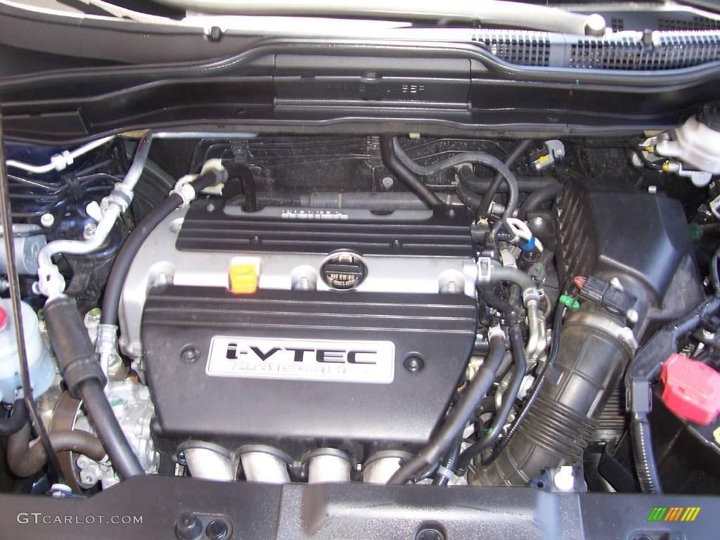 2008 CR-V EX 4WD - Royal Blue Pearl / Black photo #19