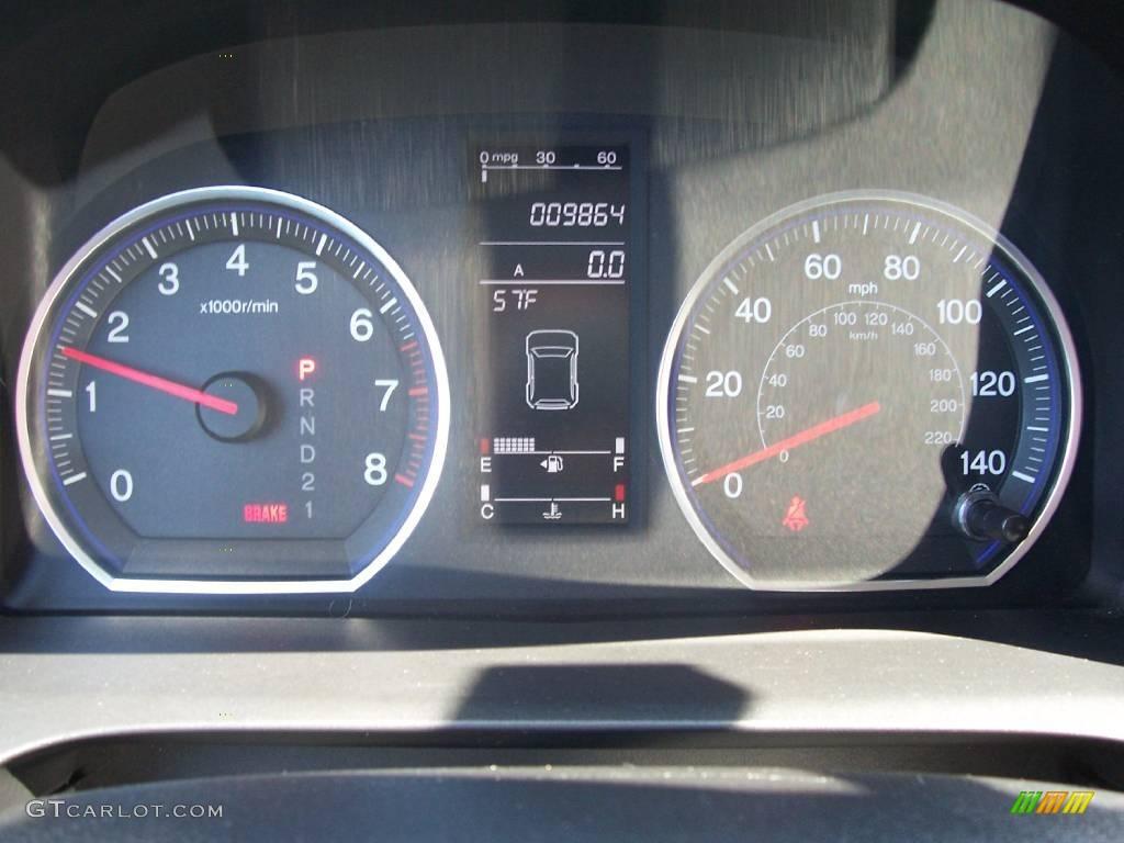 2008 CR-V EX 4WD - Royal Blue Pearl / Black photo #21