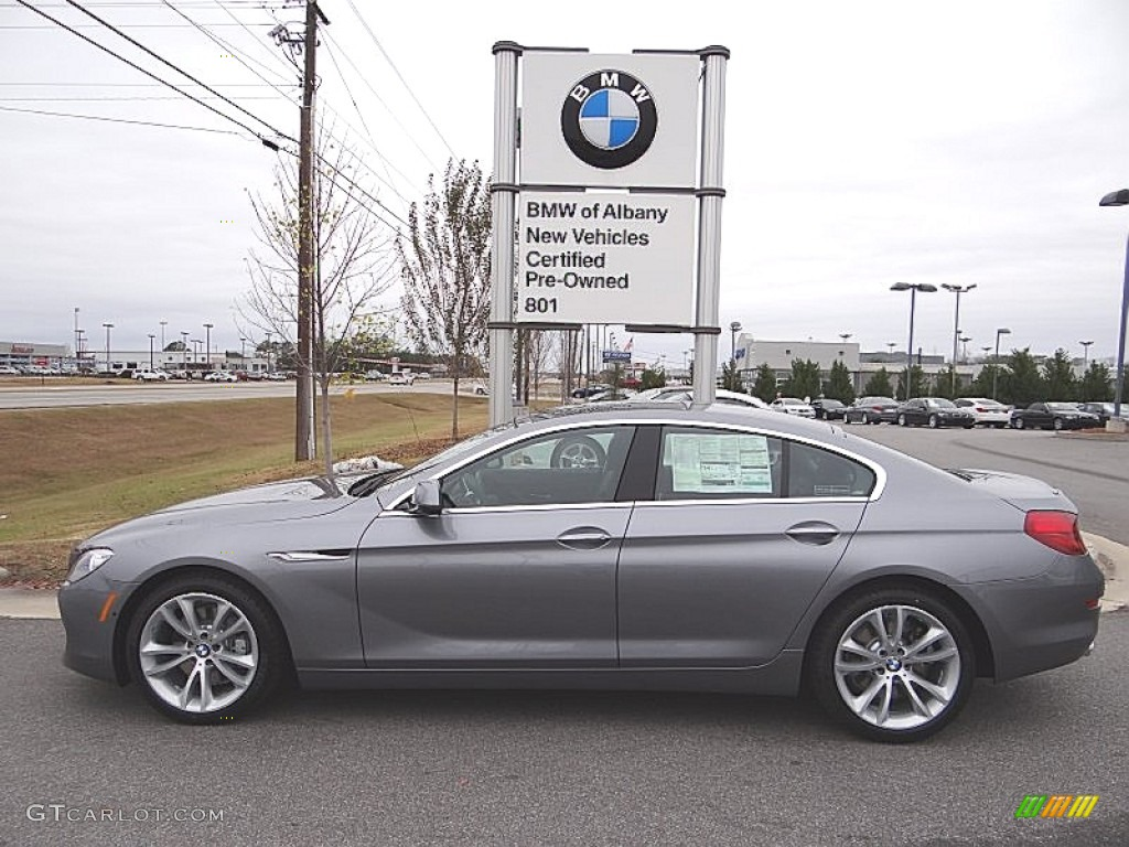 2013 Space Gray Metallic Bmw 6 Series 640i Gran Coupe