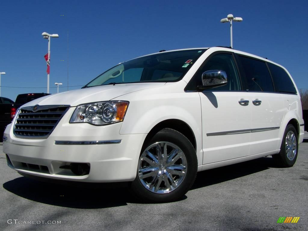 2009 stone white chrysler town country limited 7430829. Black Bedroom Furniture Sets. Home Design Ideas