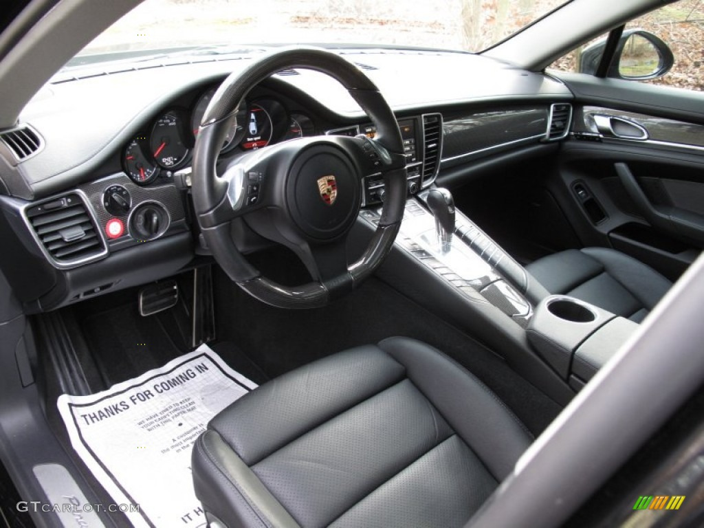 Black interior 2011 porsche panamera 4s photo 74698161 for Porsche panamera interior dimensions