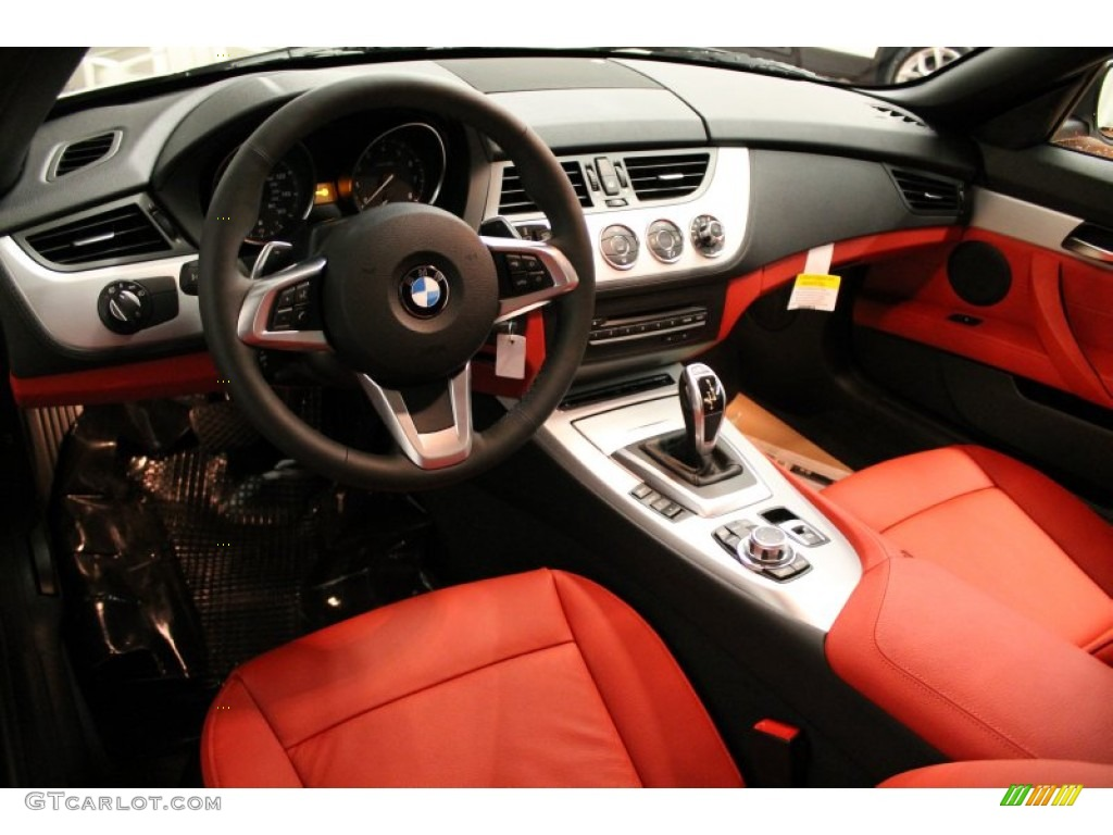 Coral Red Interior 2013 Bmw Z4 Sdrive 28i Photo 74699353