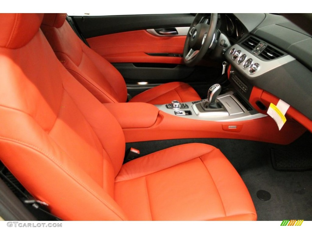 Coral Red Interior 2013 Bmw Z4 Sdrive 28i Photo 74699370 Gtcarlot Com