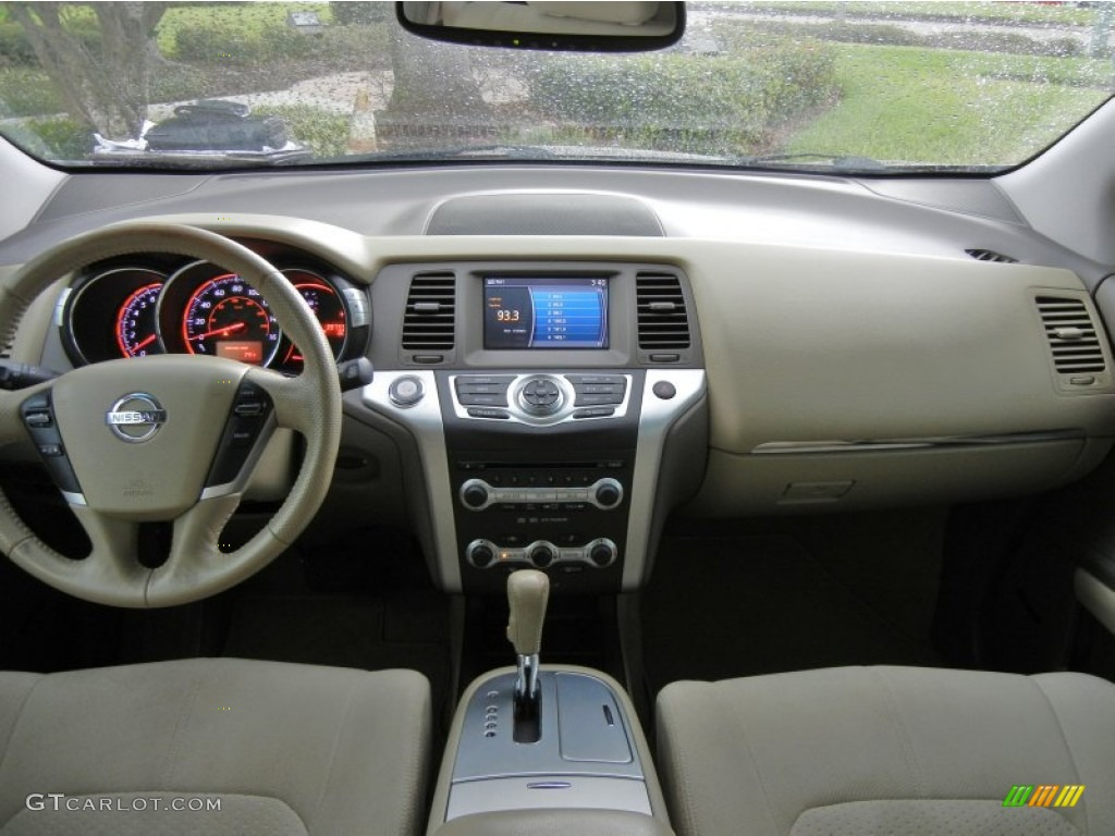 2010 Nissan Murano Sl Beige Dashboard Photo 74706412