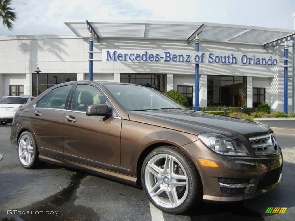 2013 dolomite brown metallic mercedes benz c 250 sport for Mercedes benz color