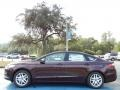 2013 Bordeaux Reserve Red Metallic Ford Fusion SE  photo #2