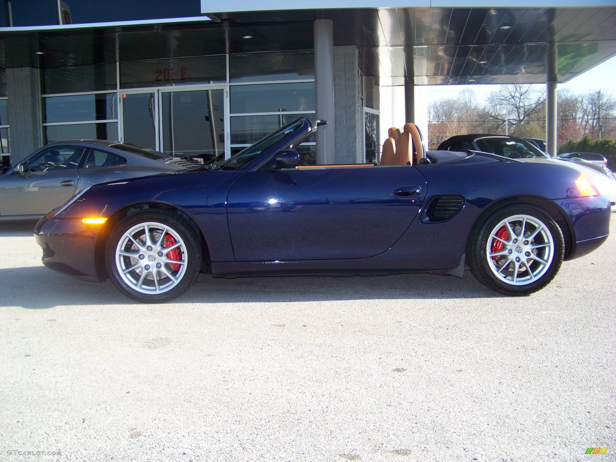 2001 lapis blue metallic porsche boxster s 7469958. Black Bedroom Furniture Sets. Home Design Ideas
