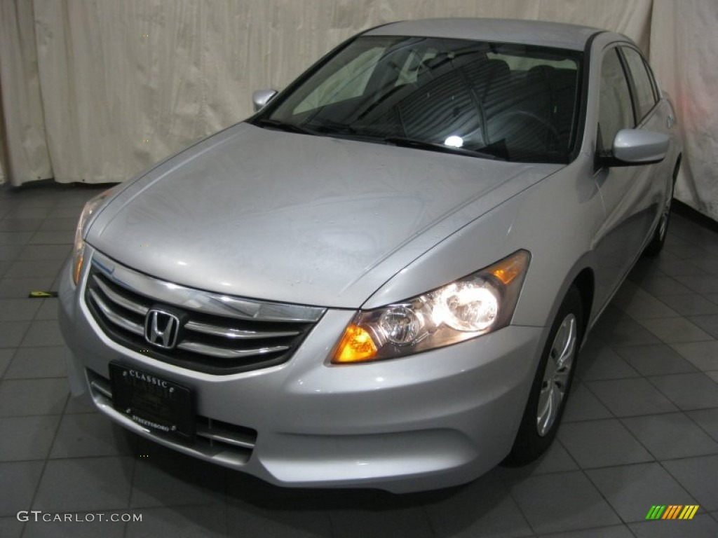 2011 Alabaster Silver Metallic Honda Accord Lx Sedan