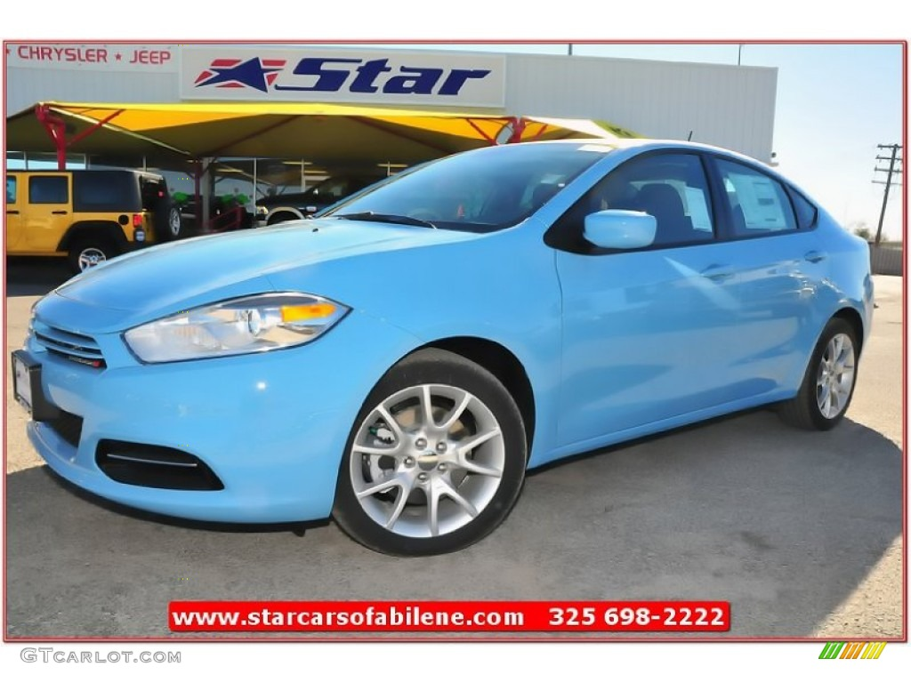 2013 laguna blue dodge dart sxt 74684443. Black Bedroom Furniture Sets. Home Design Ideas