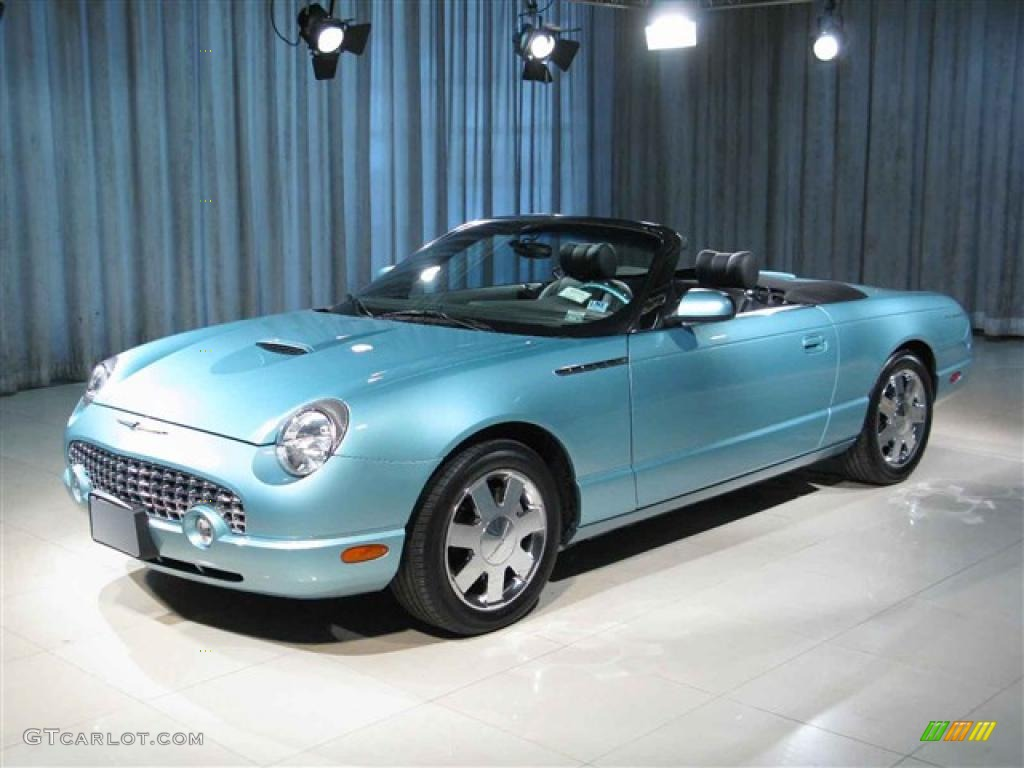2002 thunderbird blue ford thunderbird premium roadster 7472261 gtcarlot c. Cars Review. Best American Auto & Cars Review