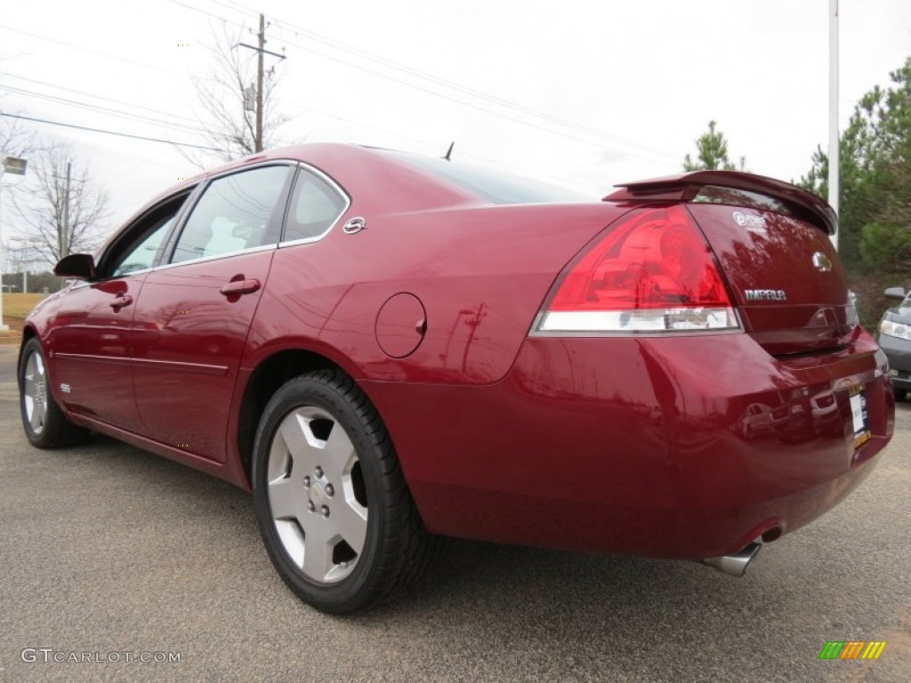 Red Jewel Tint Coat 2007 Chevrolet Impala Ss Exterior Photo 74727967