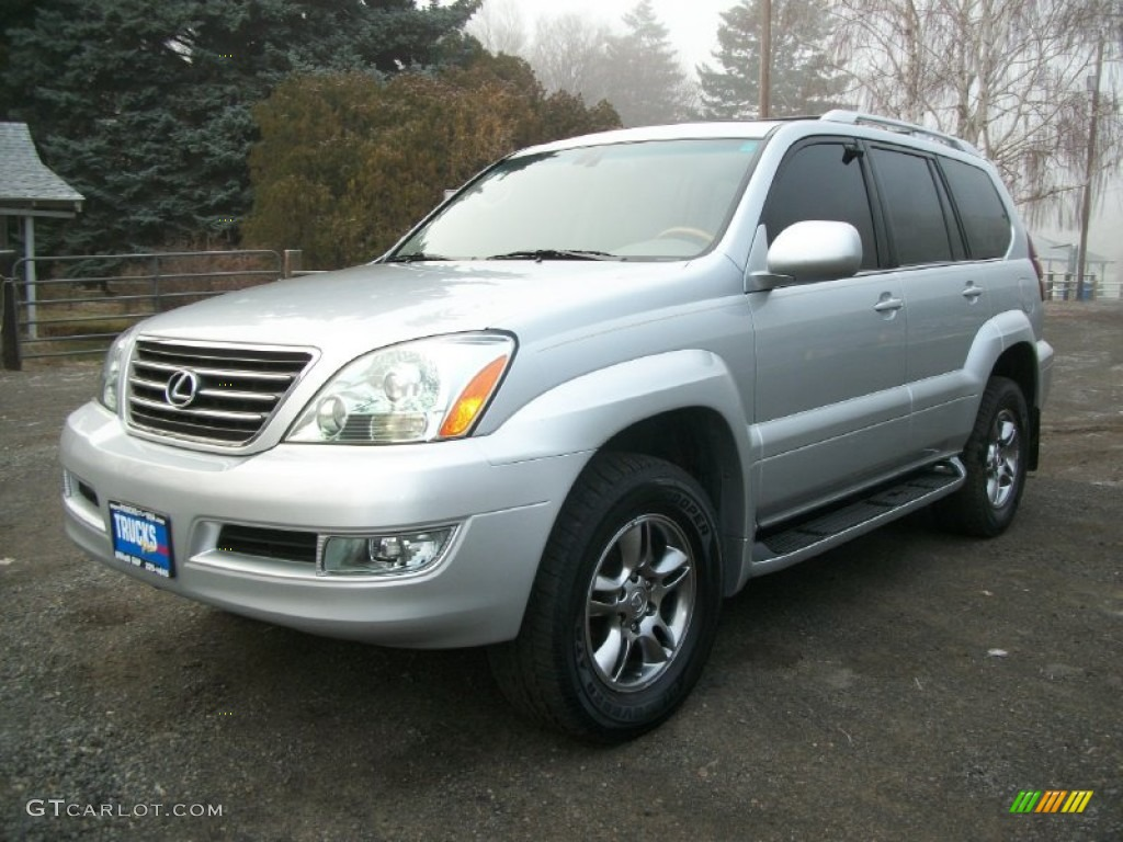 Titanium Metallic 2006 Lexus Gx 470 Exterior Photo
