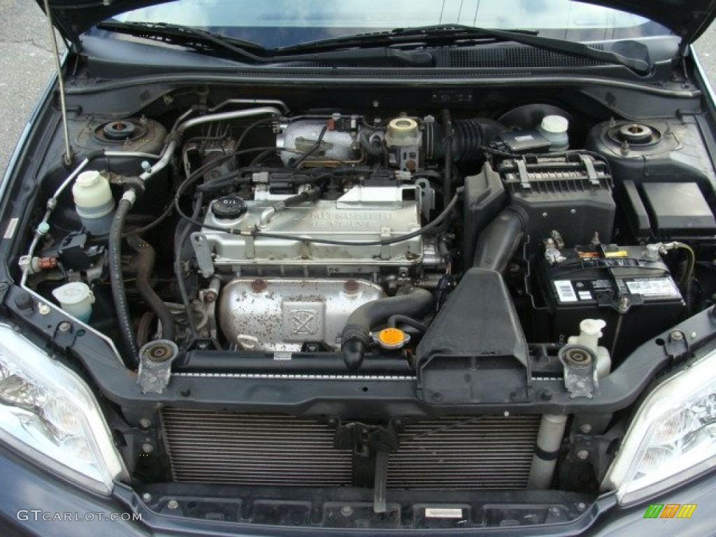 2002 Mitsubishi Lancer Oz Rally >> 2002 Mitsubishi Lancer LS Engine Photos | GTCarLot.com