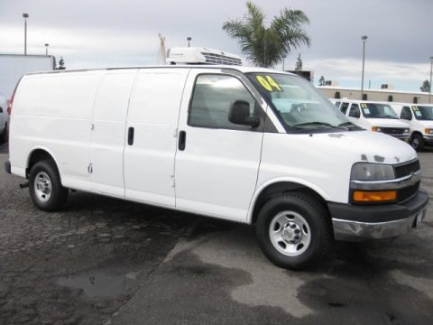 2004 chevrolet express 3500 refrigerated commercial van. Black Bedroom Furniture Sets. Home Design Ideas