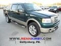 Forest Green Metallic 2008 Ford F150 King Ranch SuperCrew 4x4