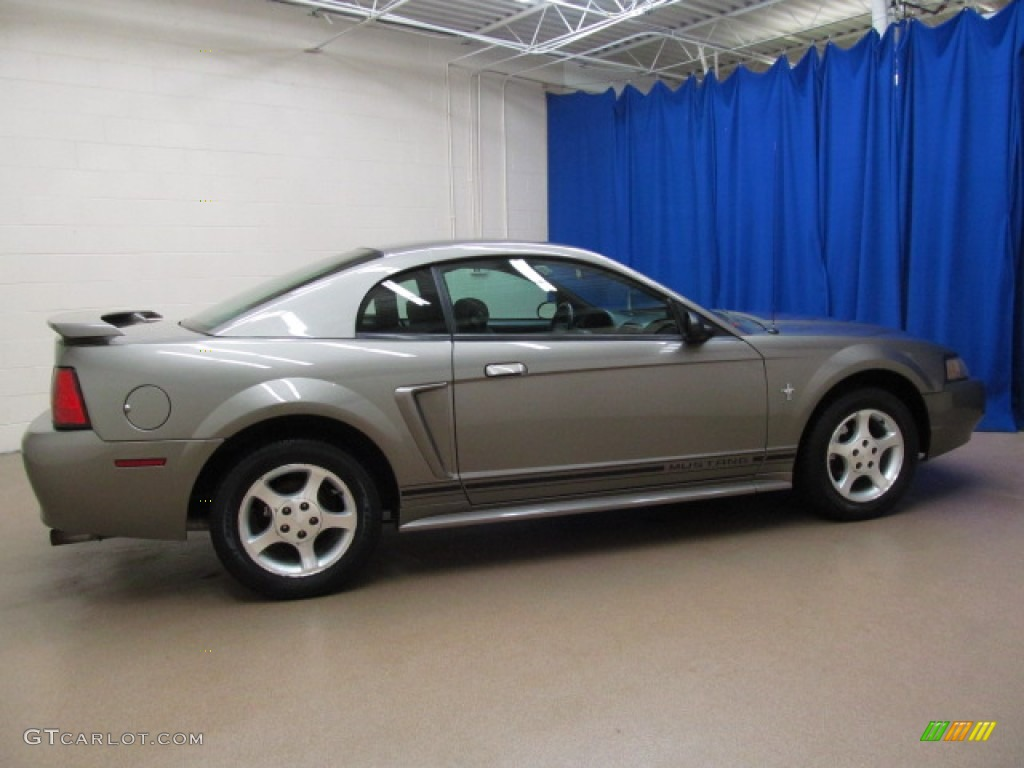 mineral grey metallic 2001 ford mustang v6 coupe exterior. Black Bedroom Furniture Sets. Home Design Ideas