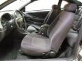 2001 Ford Mustang Medium Graphite Interior Front Seat Photo