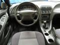 2001 Ford Mustang Medium Graphite Interior Dashboard Photo