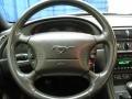 2001 Ford Mustang Medium Graphite Interior Steering Wheel Photo