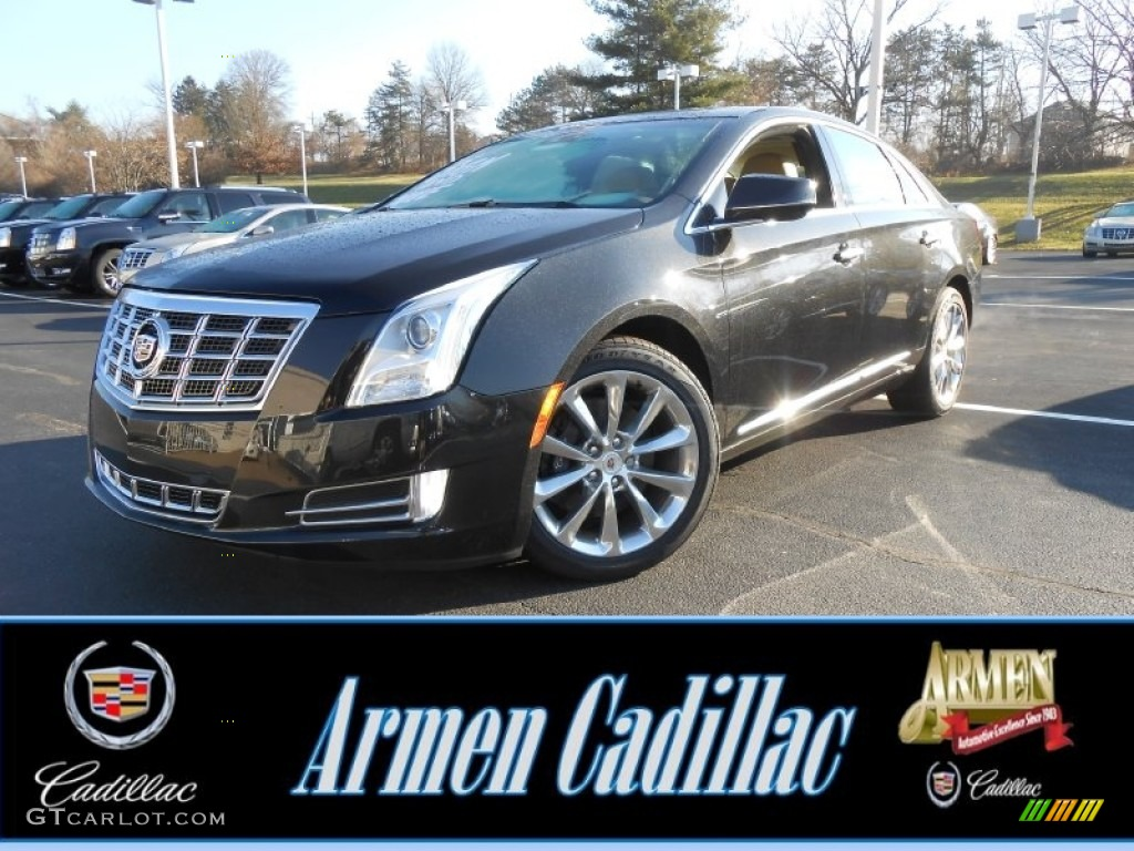 2013 black diamond tricoat cadillac xts luxury fwd. Black Bedroom Furniture Sets. Home Design Ideas