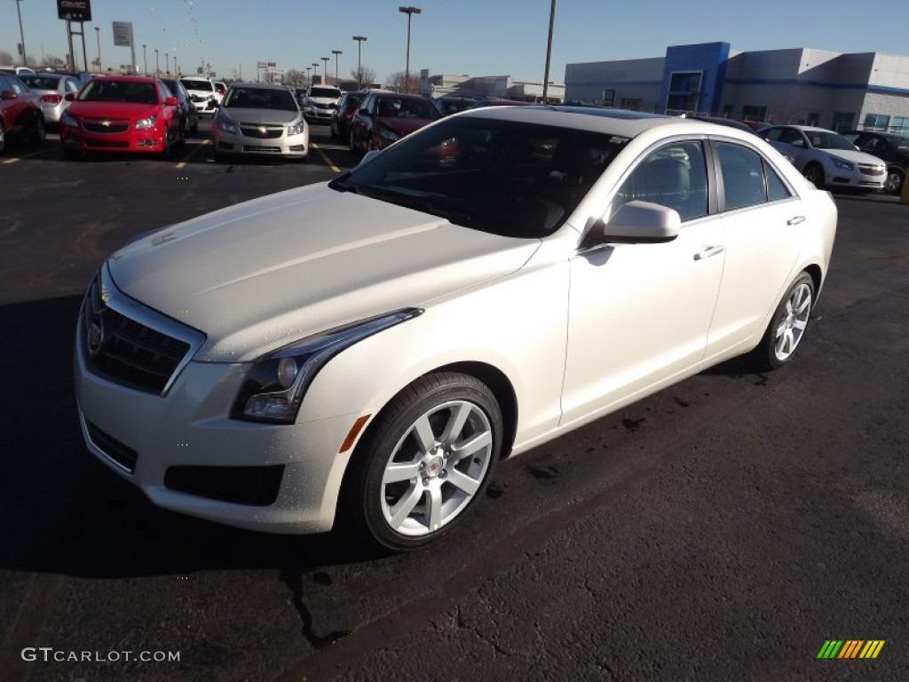 2013 White Diamond Tricoat Cadillac Ats 2 5l 74732675